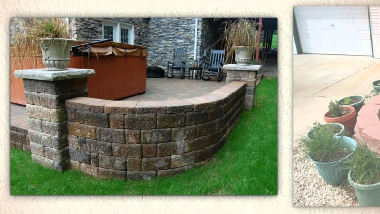 Landscape Edging Houston : Brick landscaping houston edging services