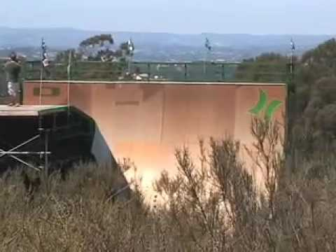 RIDEbmx - Private Mega Ramp Session with Mat Hoffman, Kevin Robinson ...