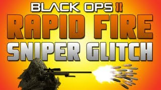 Black Ops II: Sniper Rifle Rapid Fire Glitch