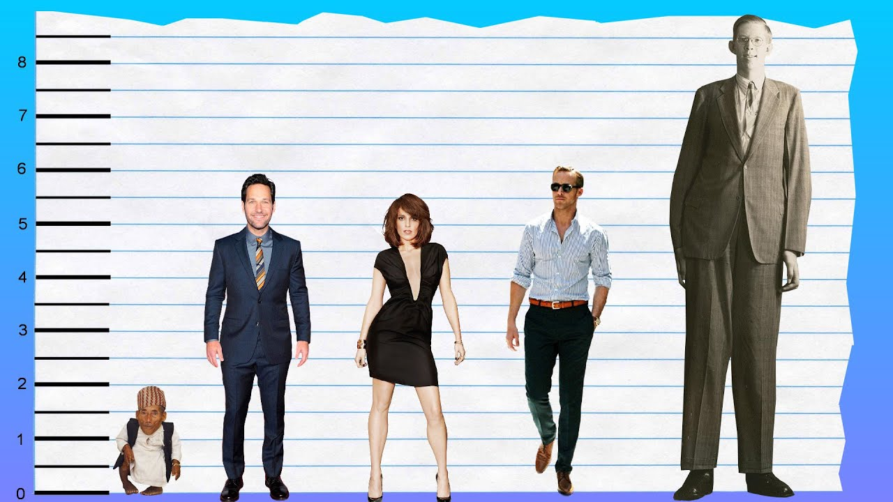 How Tall Is Paul Rudd Height Comparison Youtube