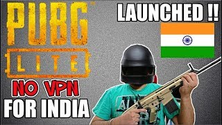 PUBG LITE Launched in INDIA 😍