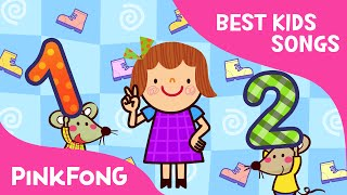 One, Two, Buckle My Shoe | Best Kids Songs | PINKFONG Songs for Children