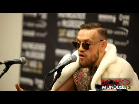"Thumbnail: CONOR MCGREGOR ""I LOOK FORWARD TO AUGUST 26TH, THE WHOLE WORLD IS IN FOR A SHOCKED!!!!!"
