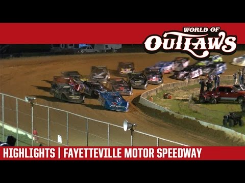 World of Outlaws Craftsman Late Models Fayetteville Motor Speedway May 6, 2017 | HIGHLIGHTS