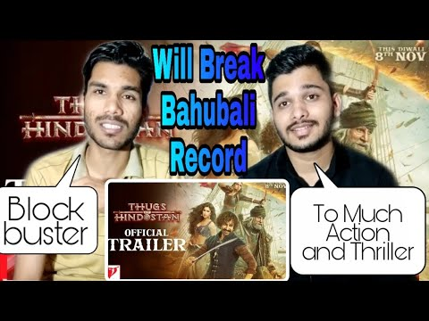 Download M BROS REACTION ON |Thugs Of Hindostan - Official Trailer | Amitabh Bachchan | Aamir Khan