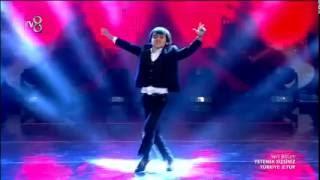 Orkhan Azizov harmandali ve kavkaz dansi bir arada Yetenek Sizsiniz Türkiye