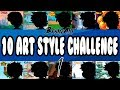 ART STYLES CHALLENGE! (Part 1) | BenkyArt