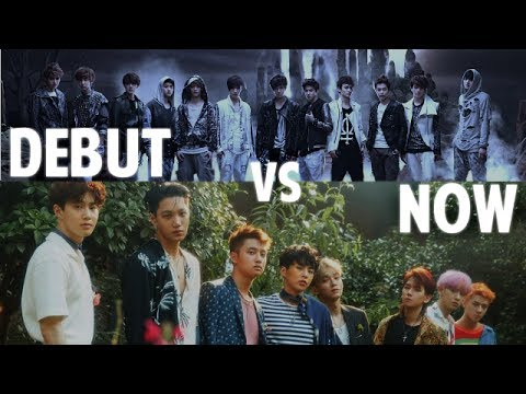 K-Pop Boy Groups - Debut vs. Now - Live Stages (66 groups!) [UPDATED]