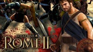 JUGANDO Rome 2 Total War - LUSITANOS VS GLADIADORES (Mayorcete)