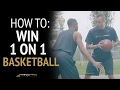 How To 3 EASY WAYS To Win 1 On 1 Basketball Beat Any Defender mp3