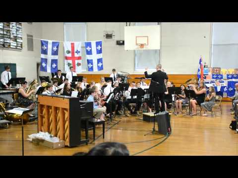 Woodsville High School [Band] Performs 'The Pacific'