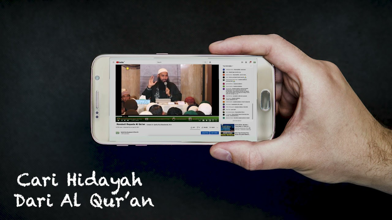 Download Cari Hidayah Dari Al Qur'an - Ustadz Dr Syafiq Riza Basalamah MA