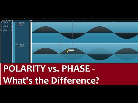 Phase Vs Polarity In Audio - What's The Difference? - Tutorial