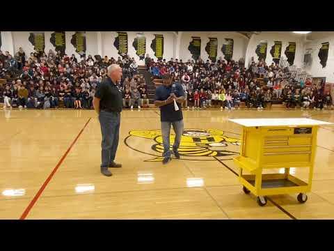 Stephen Glasder, Harvard High School Share $50,000 Award