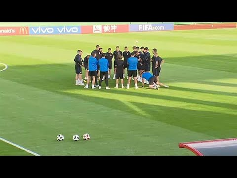 Esta é a primeira vez que a Croácia participa numa final do Campeonato do Mundo.
