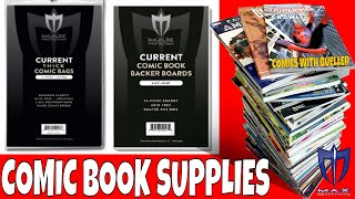 Comic Book Supplies. What you should know straight from the Manufactures themselves Max Pro Supplies