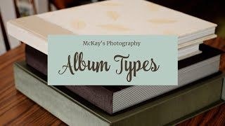 Wedding Albums by McKay's Photography