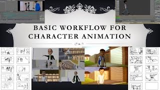 Basic Workflow for Character Animation in Blender