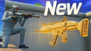 BURST is Now BETTER Than the SCAR.. New Fortnite Update!