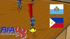Fifa 98 - Hallenmodus | San Marino vs. Philippinen