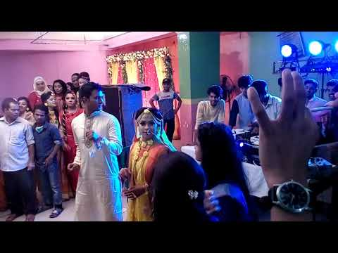Arman & nusrat wedding dance Chittagong Jamuna square club