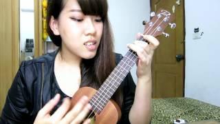 Lenka _ the show ukulele cover