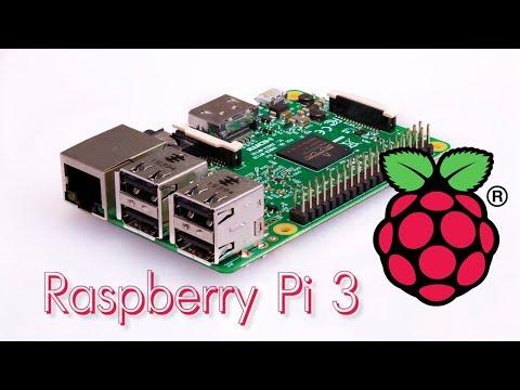 Raspberry Pi 3 - знакомство и настройка.