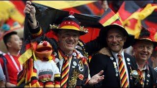2018 FIFA World Cup Germany fans in Moscow metro ЧМ по футболу фанаты Германии в московском метро
