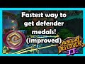 Best Way To Farm Defender Medals DD2