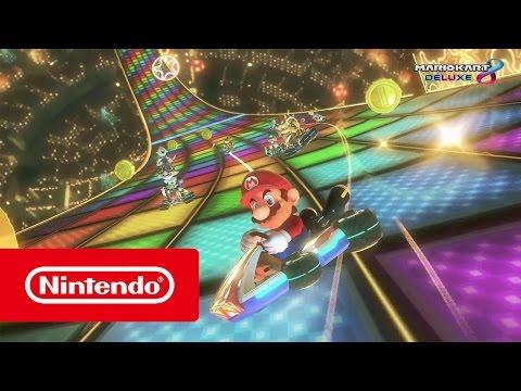 """Mario Kart 8 Deluxe – Das bisher größte """"Mario Kart""""-Spiel! (Nintendo Switch)"""