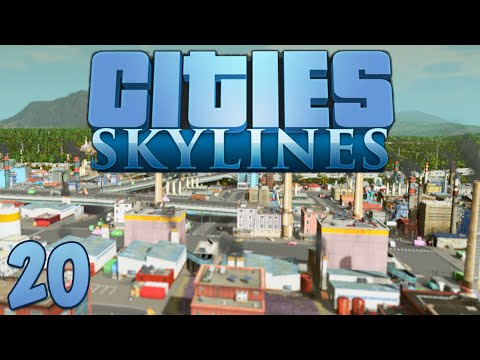 Cities Skylines 20 Custom Assets & Bus Routes