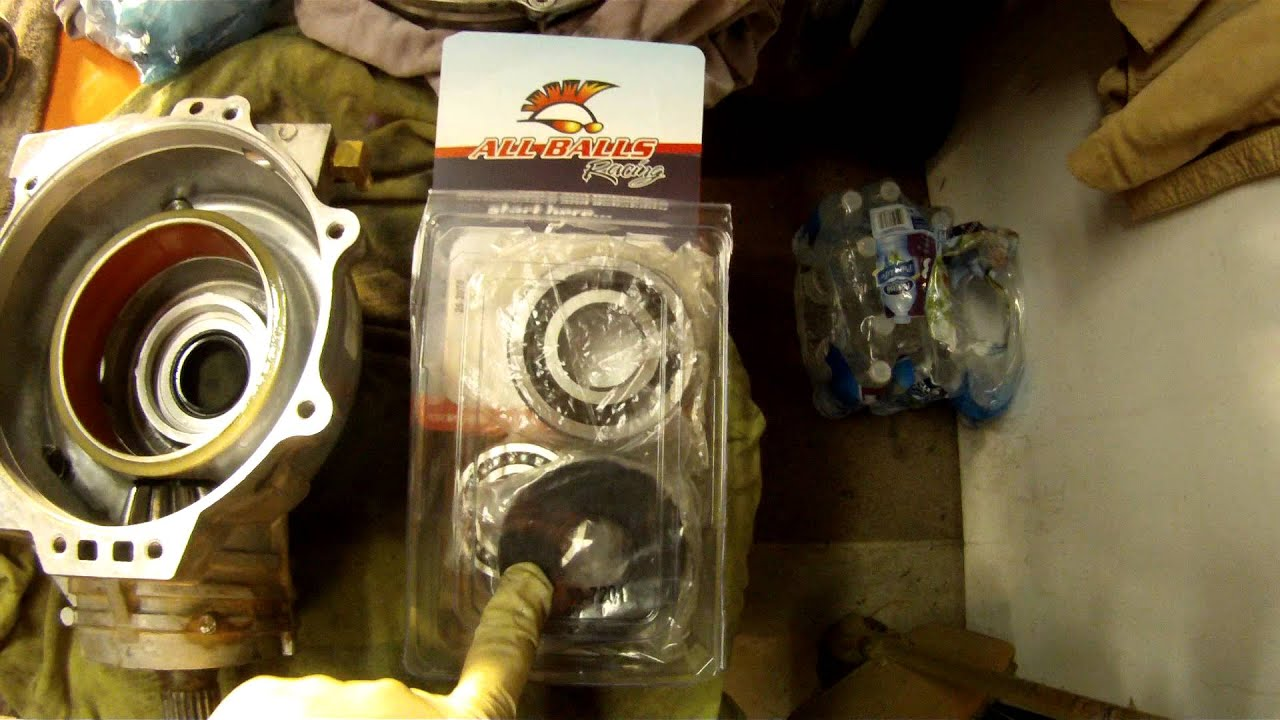hight resolution of 2011 rzr xp 900 front drive unit repair awd demand drive