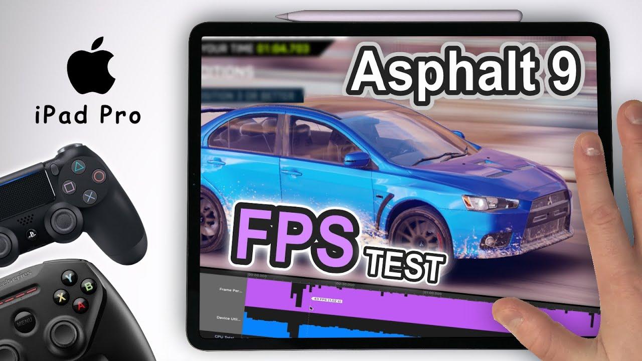How is Asphalt 9 on Apple iPad Pro Controller + FPS TEST ...