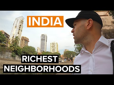 Exploring Mumbai's RICHEST Neighborhoods 🇮🇳