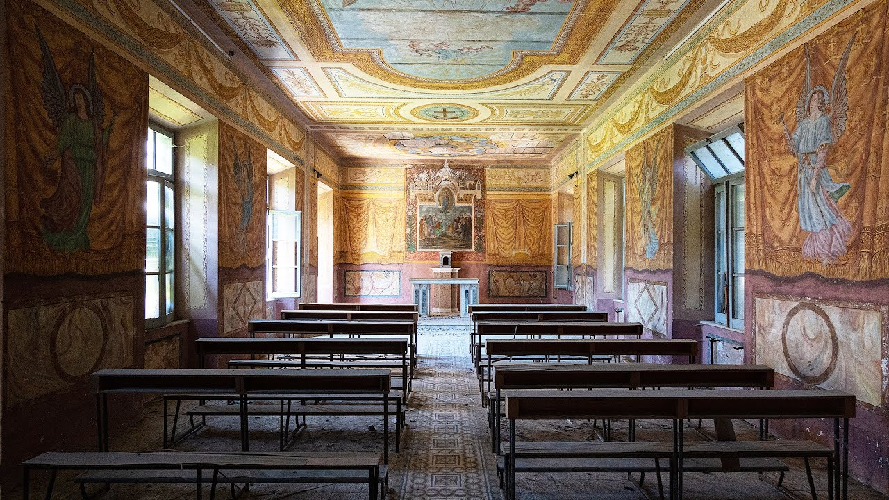 The mysteries of Italy's notorious abandoned orphan asylum