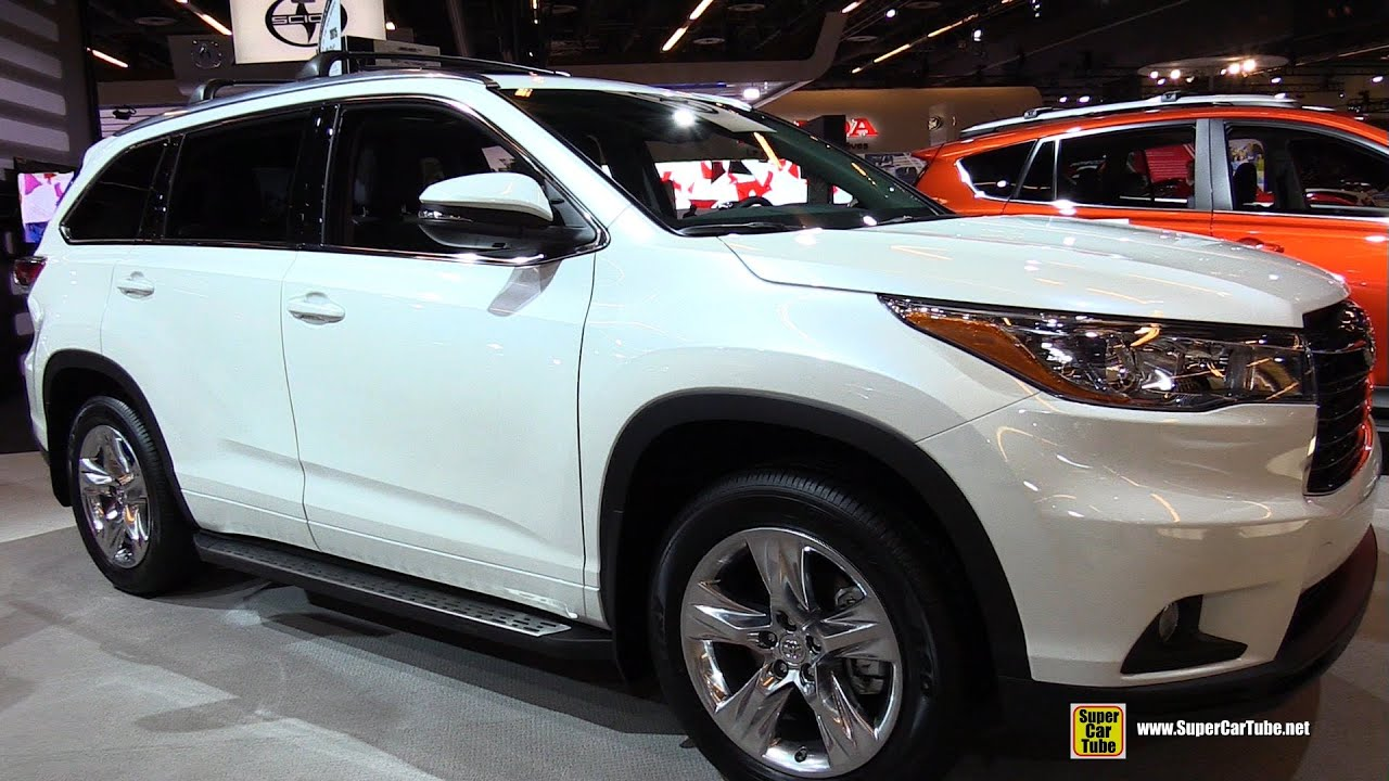 Amazing 2015 Toyota Highlander Limited   Exterior And Interior Walkaround   2015  Montreal Auto Show