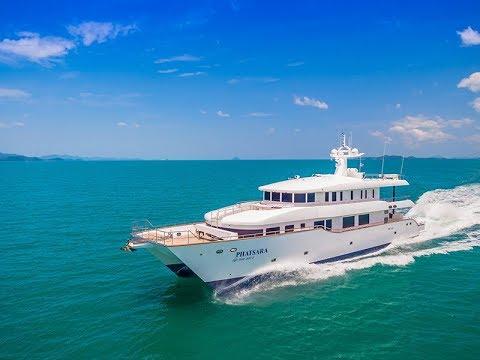 Custom Power Catamaran (37 m / 115 ft) for sale by Lee Marine