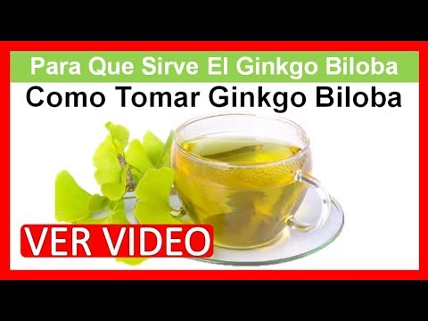 Ginkgo biloba para que sirve como tomar