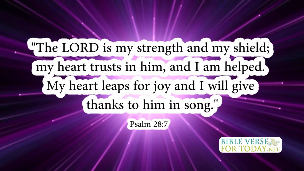 Bible Quotes About Strength Bible Verses On Strength Psalm 287  Bible Verses  Daily For