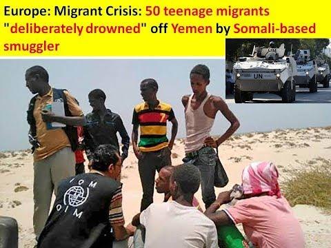 Europe: Migrant Crisis: 50 teenage migrants