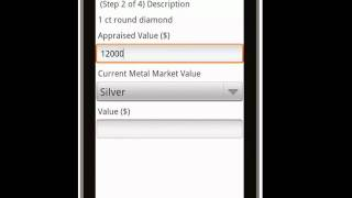 Canvas Jewelry Appraisal Deluxe 128 Mobile App