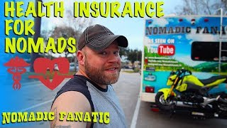 Full-Time RV Nomad Health Insurance Answers