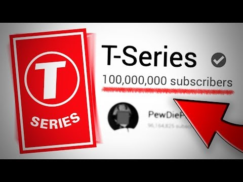 T-Series Is Now The FIRST Channel To Hit 100 Million Subscribers   Pewdiepie Vs T-Series