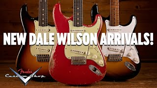 New Dale Wilson Arrivals From The Fender Custom Shop!