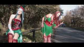 Christmas elves late for work