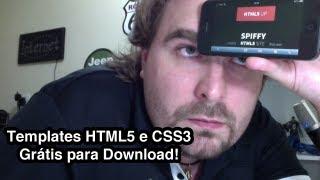 HTML5 e CSS3 - Baixe Templates Responsivos - Grátis!