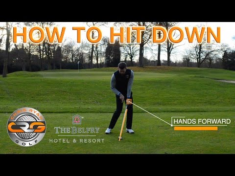 Golf Golf How To Hit Irons