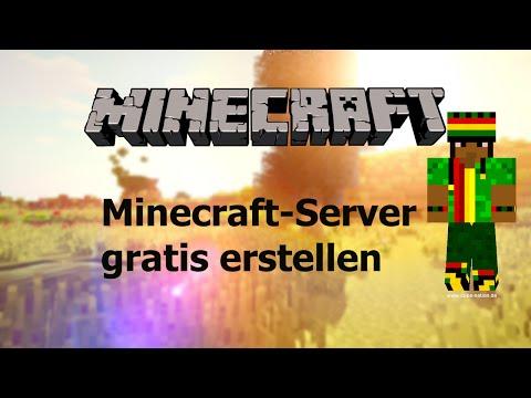 GRATIS Minecraft-Server erstellen | OHNE HAMACHI