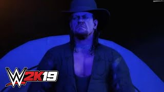 WWE 2K19 Undertaker entrance video