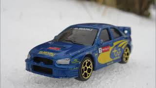 Subaru tribute (hot wheels stop motion)